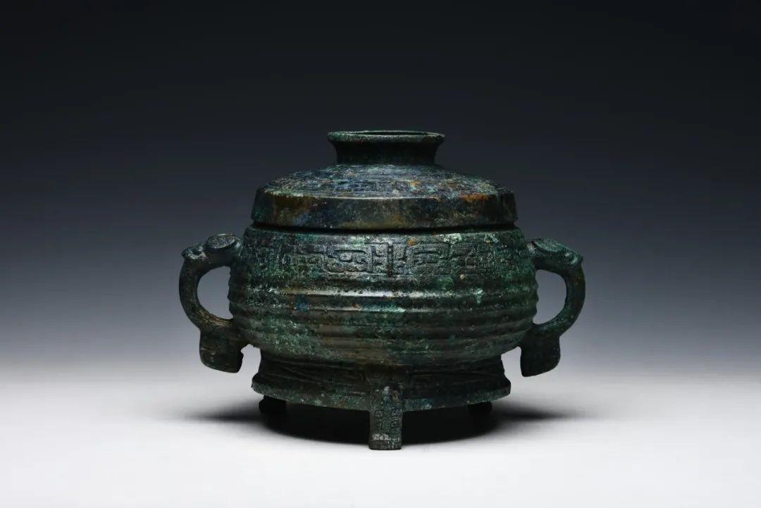 夺簋出土地点:垣曲北白鹅墓地M3年代:西周晚期收藏单位:山西省考古研究院